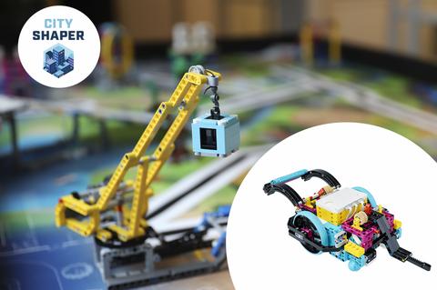 Bilde av LEGO Education SPIKE Prime og City Shaper