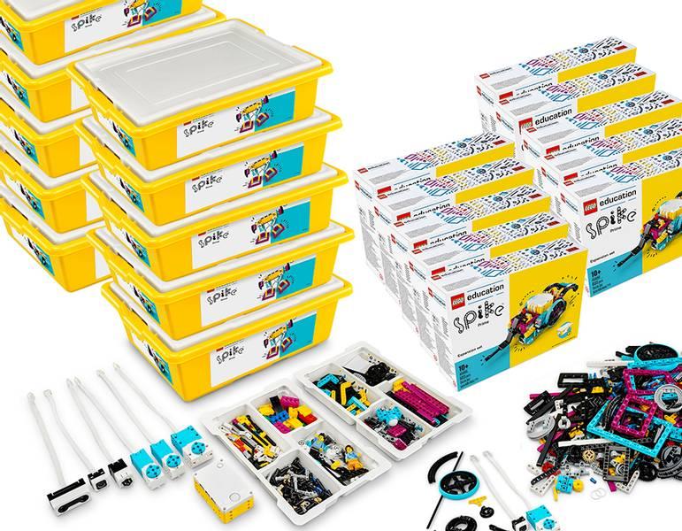 LEGO® Education SPIKE™ Prime med utvidelsessett (20 elever)