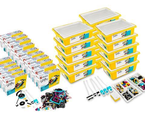 Bilde av  LEGO® Education SPIKE™ Prime med utvidelsessett (30 elever)